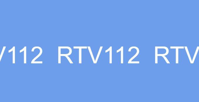 RTV112 General Purpose Adhesive Sealant High Temperature Paste Silicone Solutions