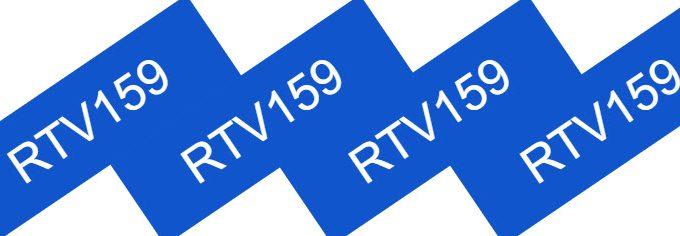 RTV159 Adhesive Sealant High Strength High Temperature